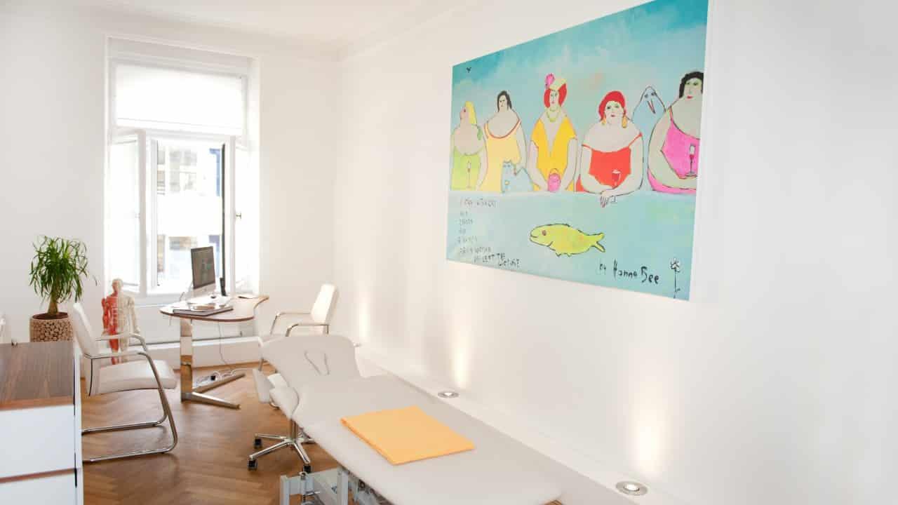 Behandlungszimmer, Therapiezimmer