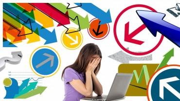 Studenten gestresst