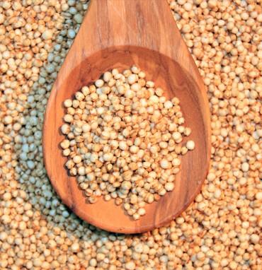 Quinoa gepufft